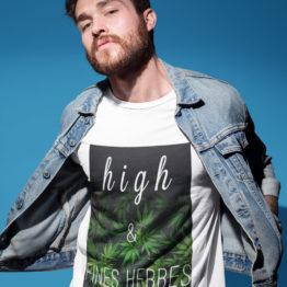 t-shirt high